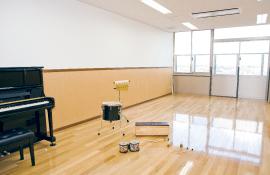 音楽療法室