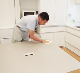 室内清掃作業実習